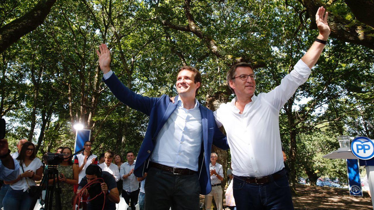 «Primero quiero hablar con Pablo Casado».Luis Venta con Pablo Casado