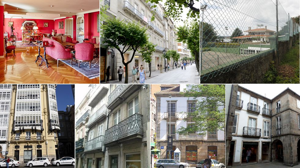 Las viviendas más caras de Galicia.Las nubes de estancamiento impiden que en zonas como Foz pase la radiación solar. A Ourense, este aire llega ya recalentado