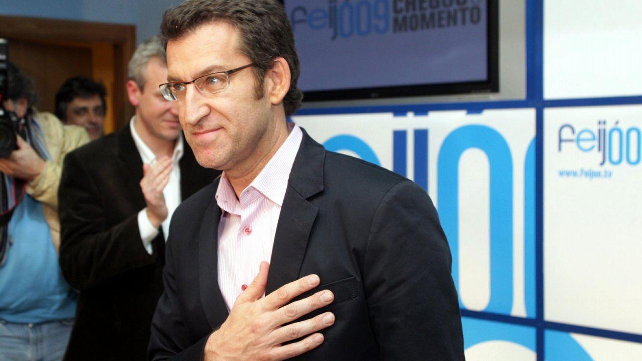 En 2009 Feijoo ganó las elecciones en Galicia con mayoría absoluta.