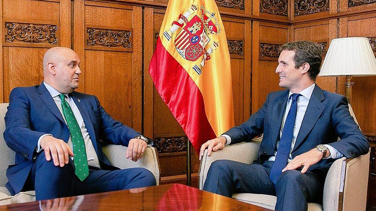 Pedro Leal y Pablo Casado