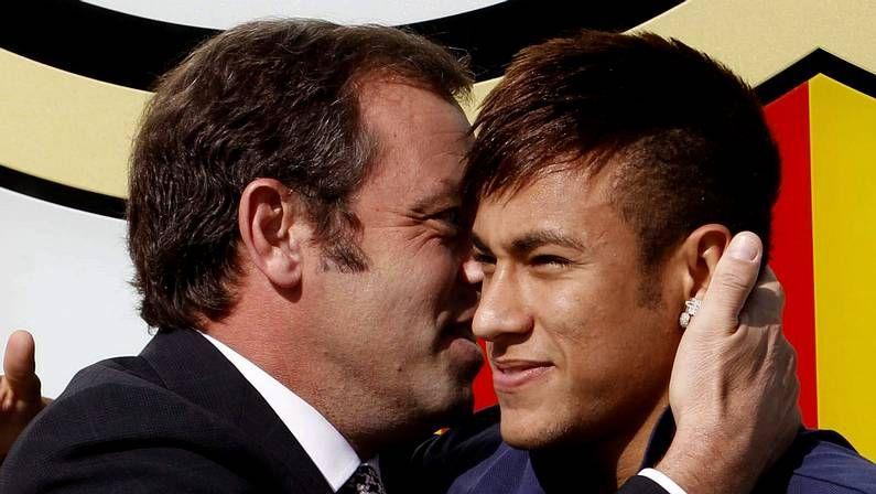 La presentación de Neymar con el Barça, en fotos
