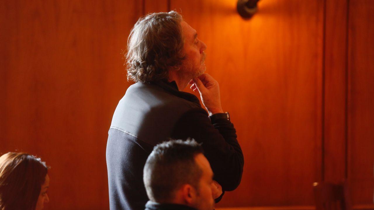 Sito Miñanco, ante su primer juicio por blanqueo en la Audiencia de Pontevedra.