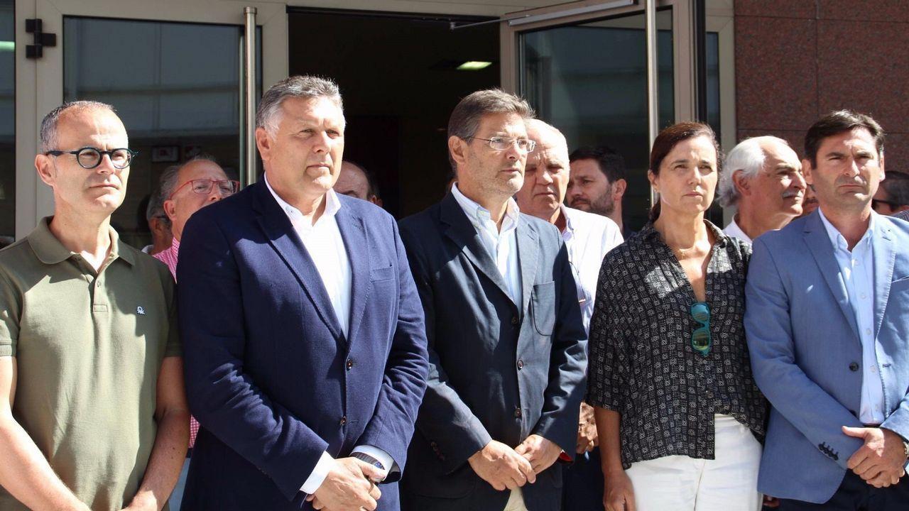 La Brilat honra a su patrona.Compromisarios de Pontevedra
