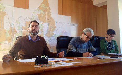 El alcalde Fernando Pérez durante el pleno de este viernes