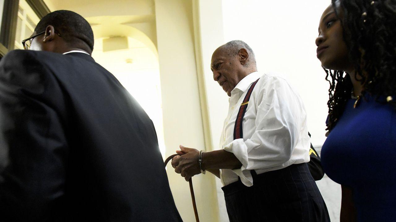 ¿Qué pasaba dentro de la orden de los Miguelianos de Oia?.Cosby sale esposado tras ser condenado a una pena de tres a diez años de cárcel por abuso sexual