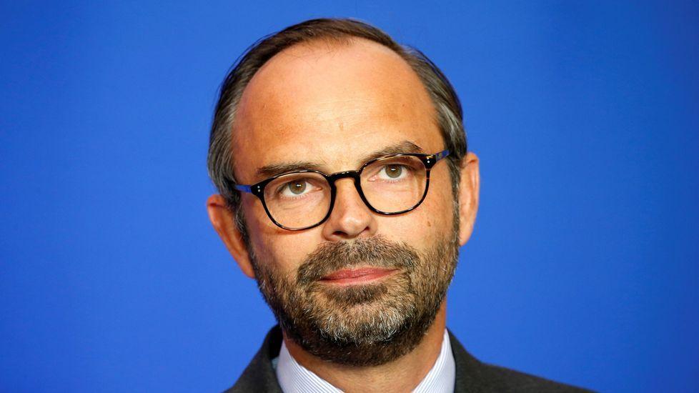 Jornada electoral en Reino Unido.Edouard Philippe, primer ministro francés