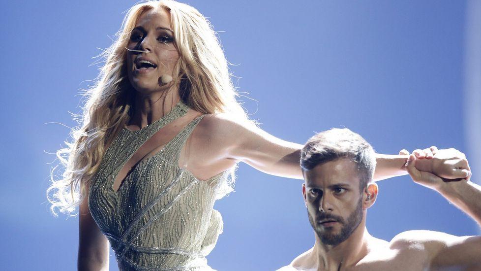 Eurovisión 2015: Los participantes en la final.Fher Olvera, cantante de Maná, en el concierto que el grupo dio en el Coliseo en el 2003.