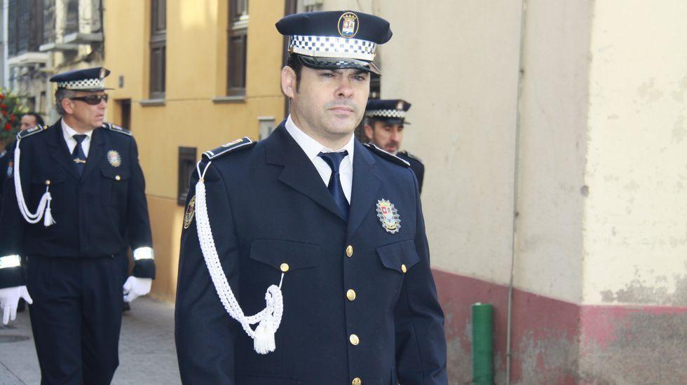 Fernando Lozano es el nuevo jefe de la Policía Local de O Barco
