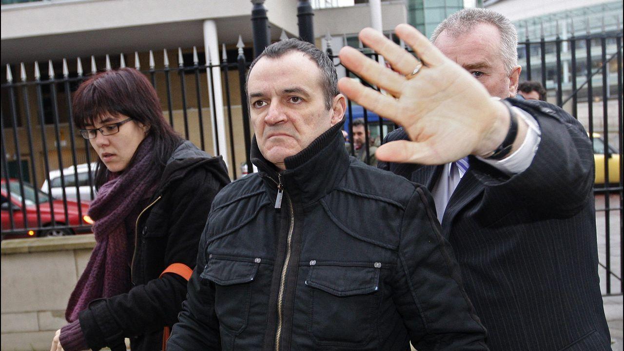 El terrorista José Ignacio de Juana Chaos, en Belfast, en el 2008