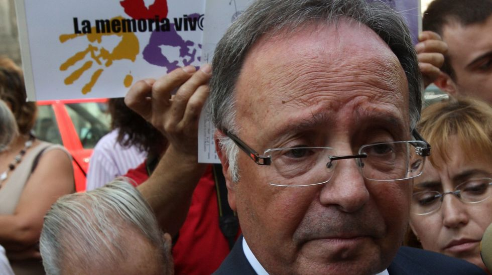 Los responsables de Manos Limpias y Ausbanc detenidos.Miguel Bernard, secretario de Manos Limpias