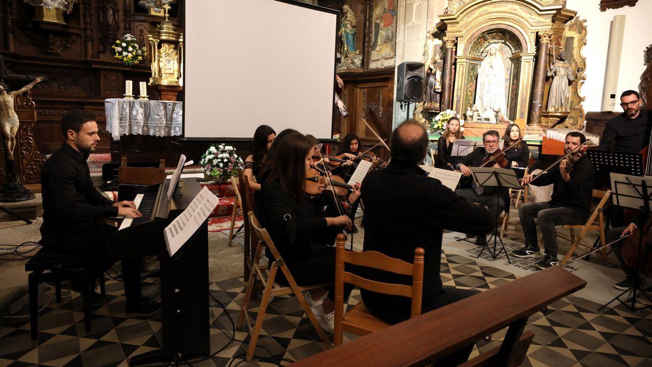 Concierto música compuesta por David Catá y Juan Cabalaren la Concepcionistas