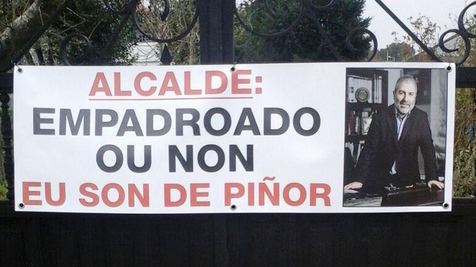 Los integrantes de la que será la Agrupación de Electores de Piñor.
