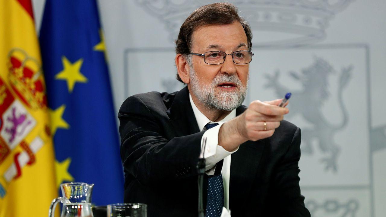 Rajoy: «La moción no es la consecuencia de nada, es la excusa de todas las necesidades políticas de Sánchez».