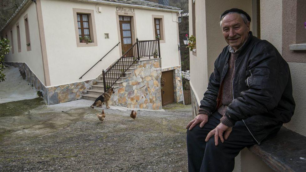 Manuel Armesto, miembro de una familia que regentó una de las numerosas pensiones de A Ferrería