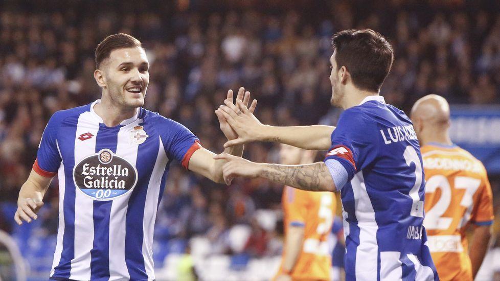 El Deportivo-Valencia, en fotos.