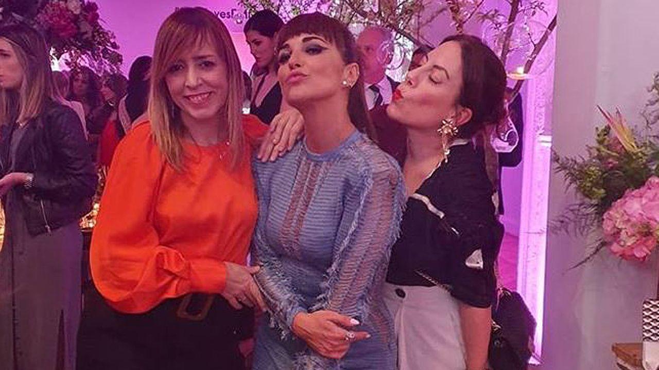 Paula Echevarría en la fiesta organizada por la revista «Elle» y Tous