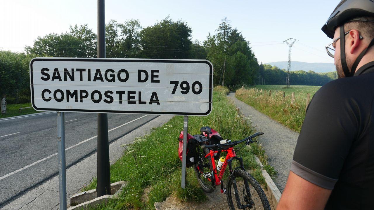 .Aquí, en Roncesvalles (Navarra), empieza la aventura