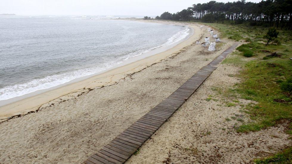 A Guarda. Playa de O Muíño