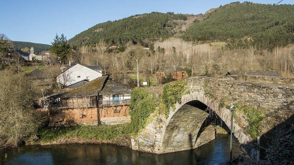 Otra vista del lugar de A Ponte y de su antiguo puente