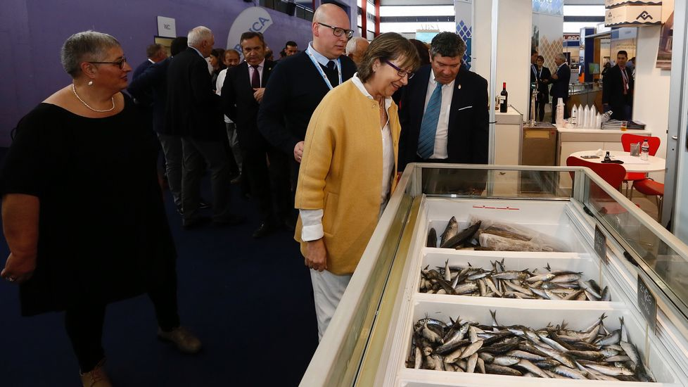 Inauguración de Expomar. Burela