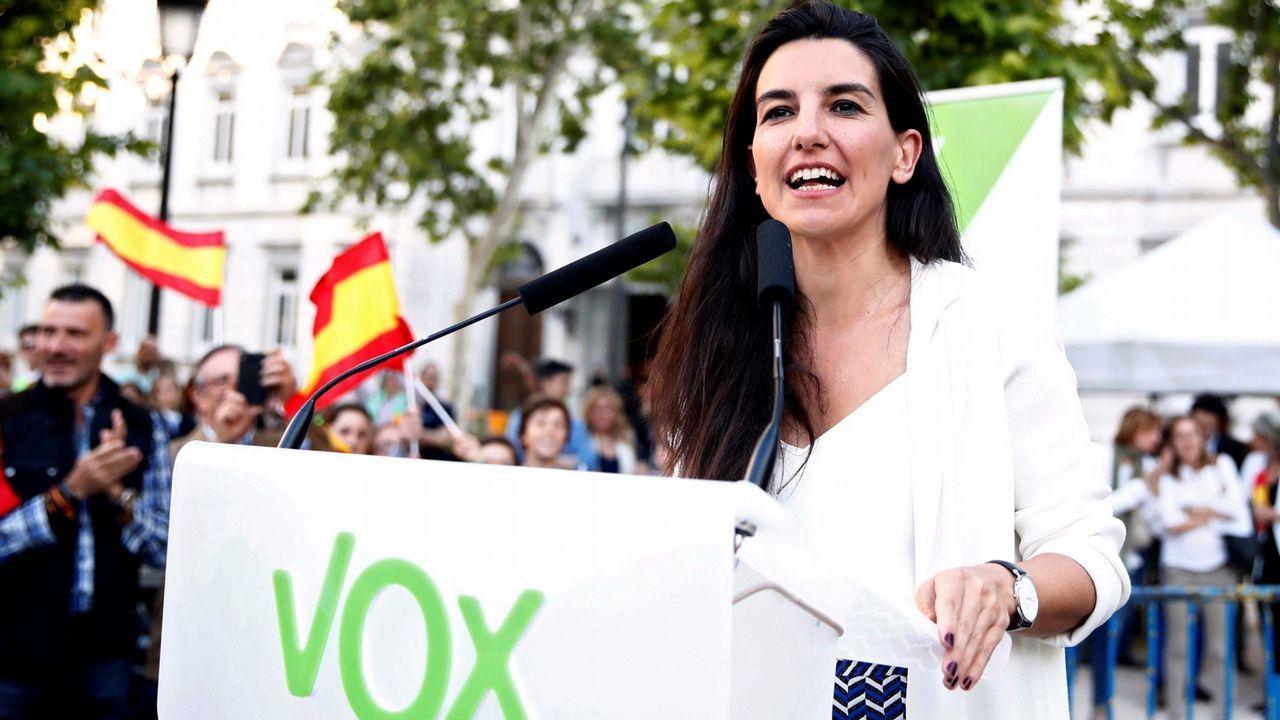 La candidata de Vox a la Asamblea de Madrid, Rocío Monasterio