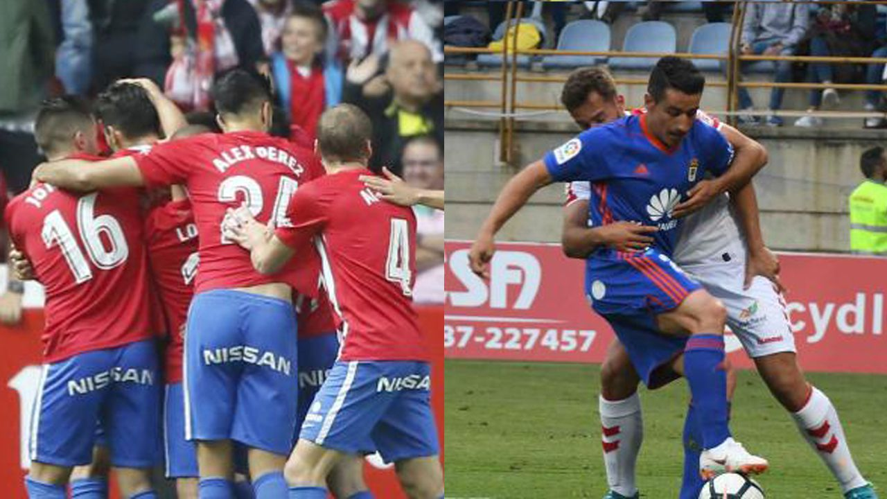 mareona.Sporting y Real Oviedo