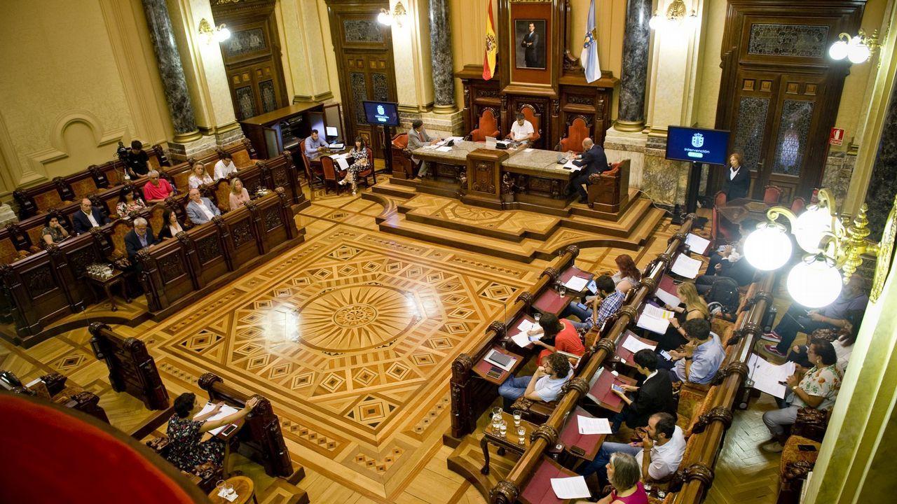 Sigue en directo el pleno municipal de A Coruña.