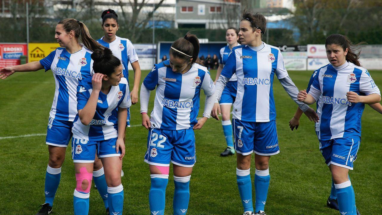 Tere Abelleira, jugadora del Deportivo