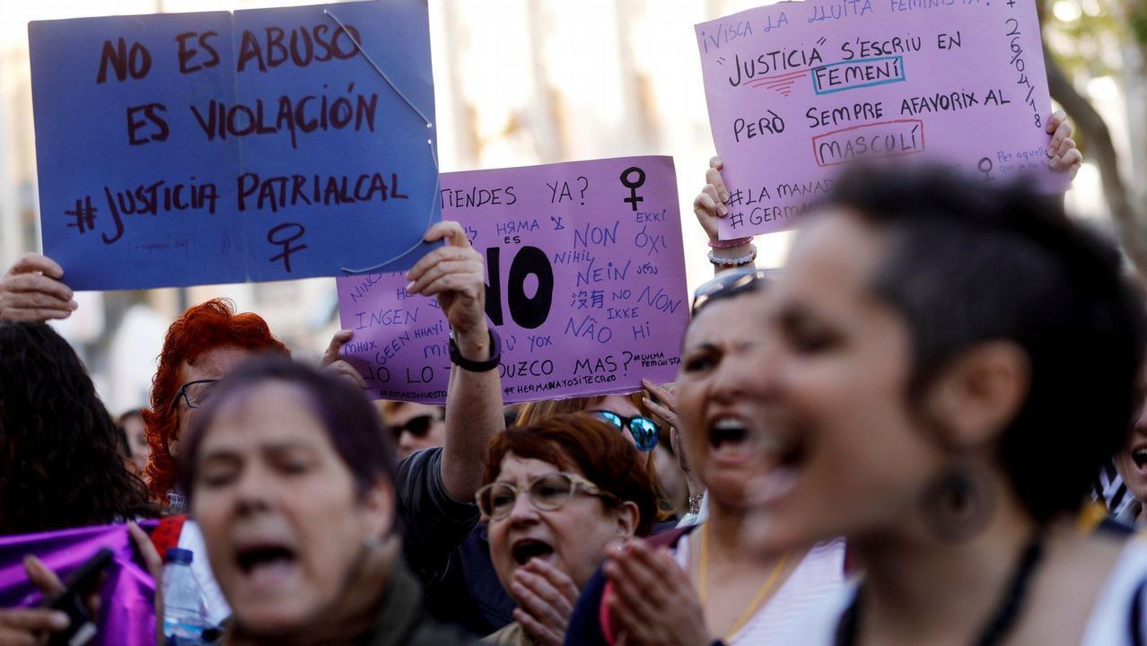 Magistrados asturianos valoran la sentencia de la Manada