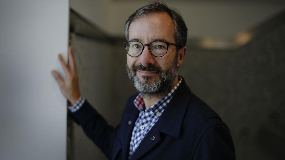 Javier Rouco, profesor que enseña filosofía en infantil