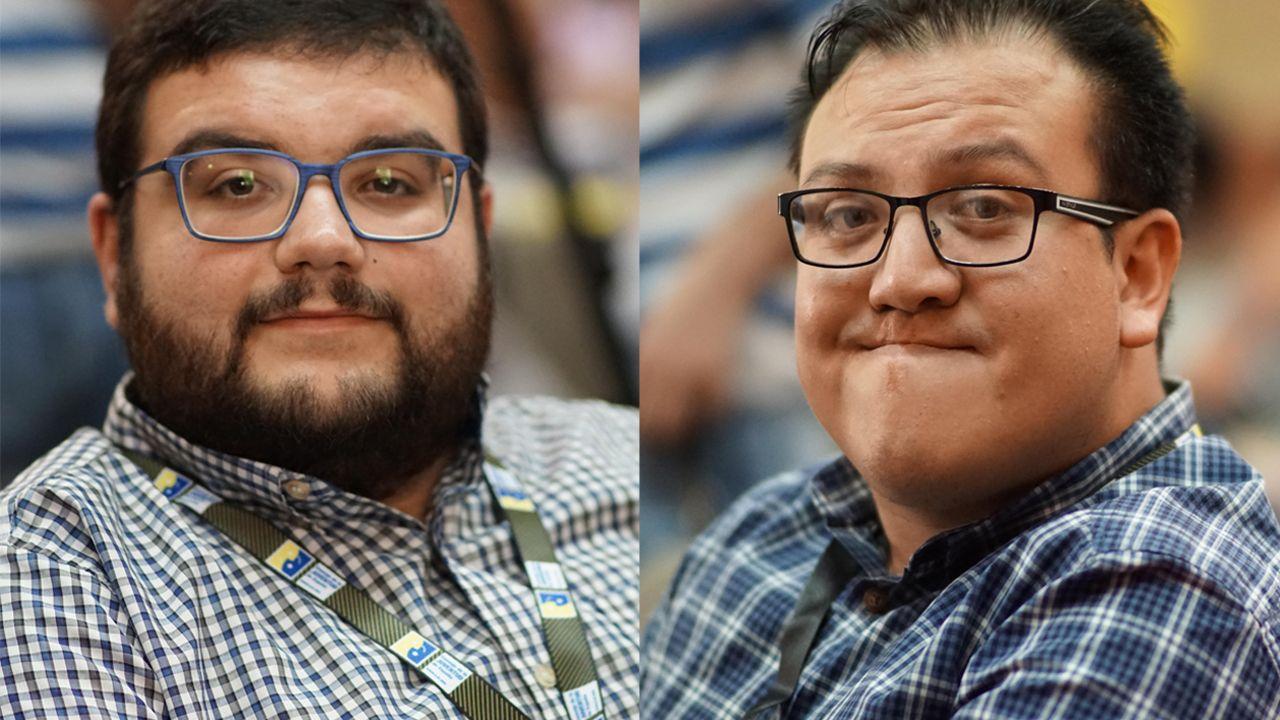 Ricardo Sevillano y Alejandro Delgado