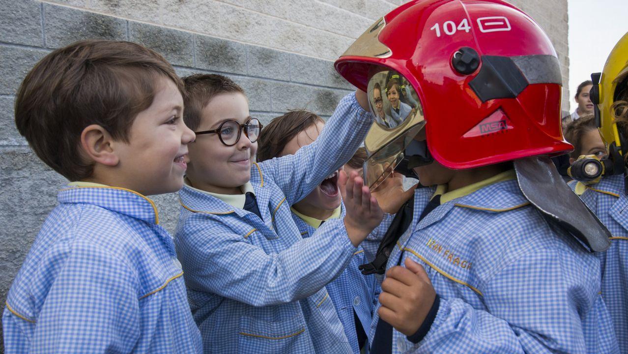 Las imágenes más divertidas del simulacro de incendio en el Artai