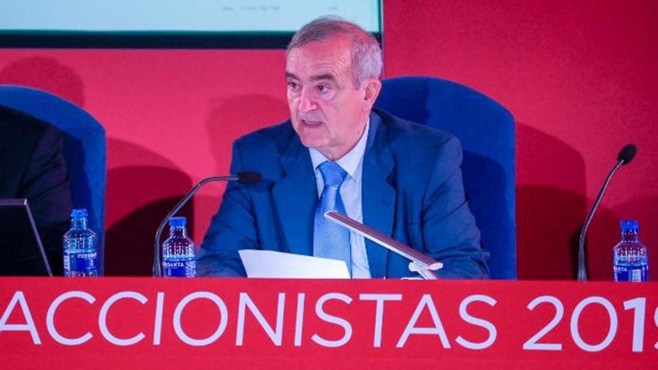 Acacio  Rodríguez, presidente ejecutivo de Duro Felguera