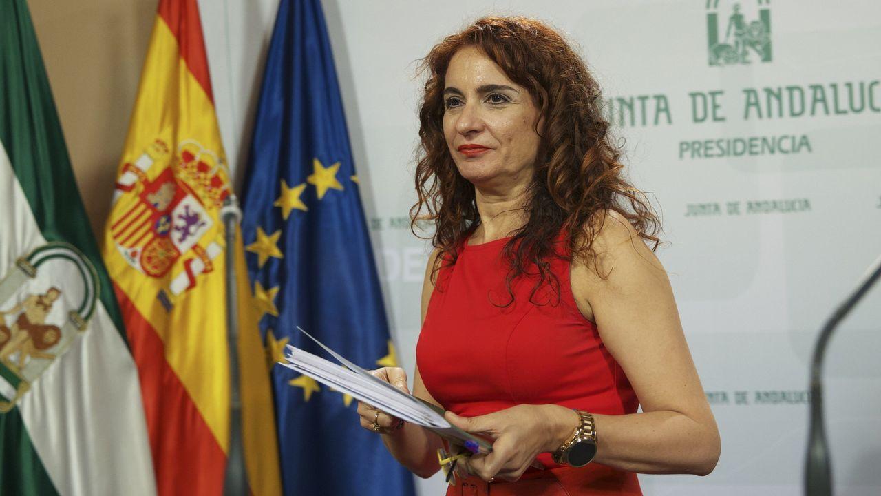 Las caras del equipo de Gobierno de Pedro Sánchez.Ministerio de Hacienda: María Jesús Montero