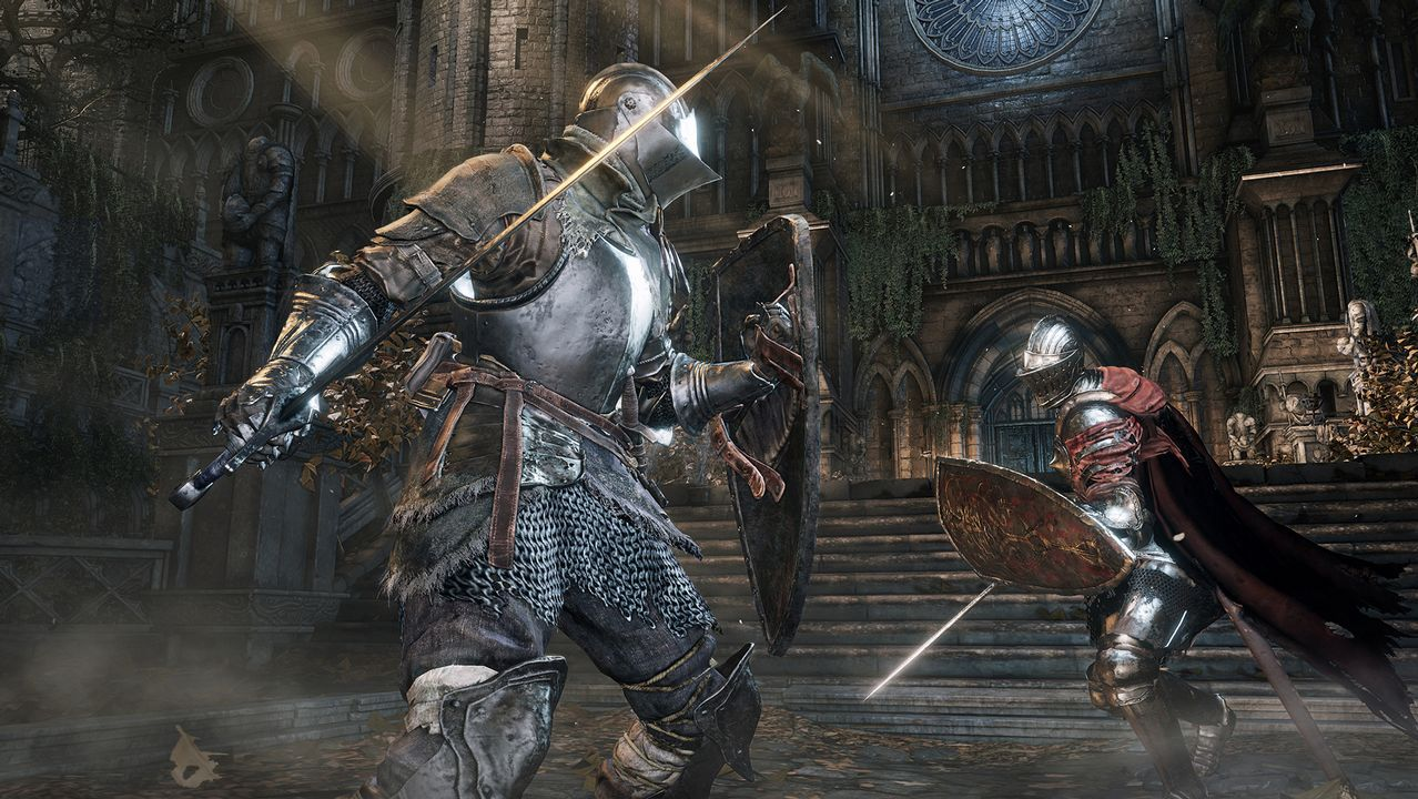 .Fotograma del videojuego Dark Souls 3, de From Software