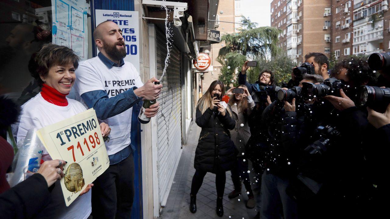 También ha caído el Gordo en una administración del barrio madrileño de Usera.