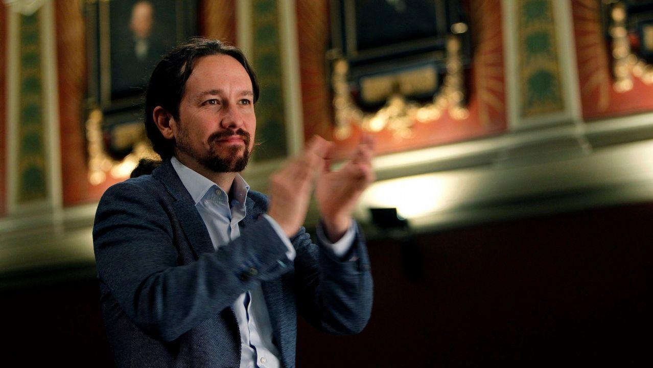 Los vídeos con los que el PP ha querido sonrojar a Iglesias en la comisión de financiación de partidos en el Senado.El Consejo Ciudadano de Podemos Asturies