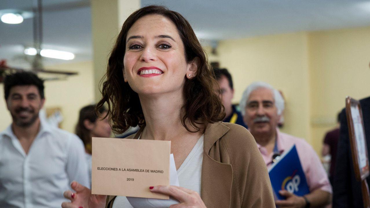 El consejero de Presidencia, Guillermo Martínez, comparece en la Junta General del Principado.La candidata del PP a la Asamblea de Madrid, Isabel Díaz Ayuso