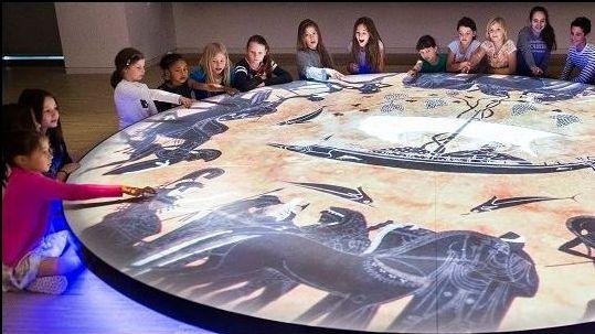 Un grupo de estudantes nunha visita ao Parlamento Europeo