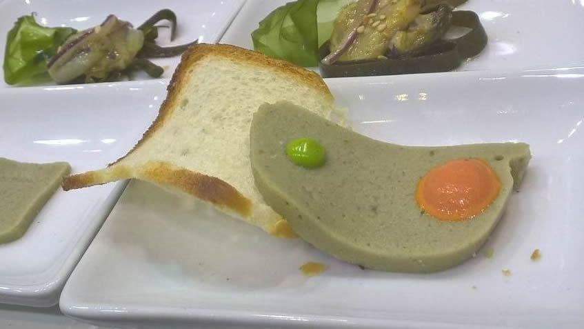 El instituto Carlos Oroza ha explorado el potencial de la lapa. Uno de sus platos fue este sabroso paté