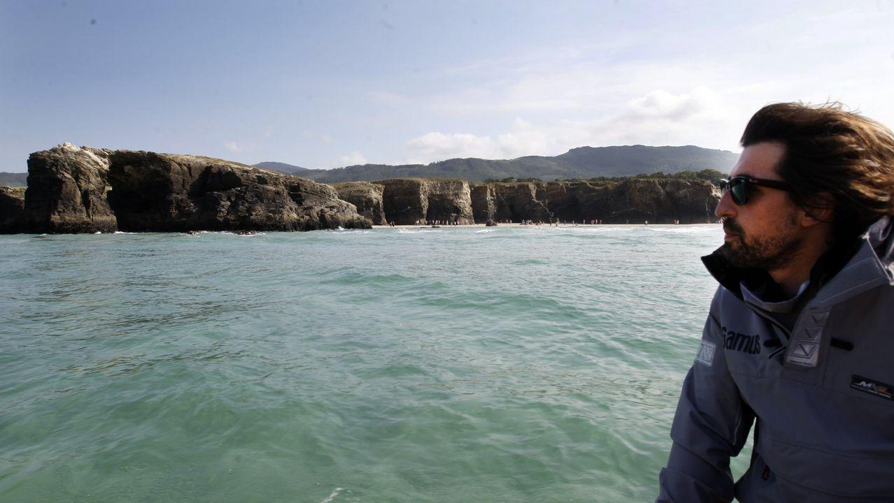 Dos ballenas azules, madre e hija, se dejan ver en Galicia