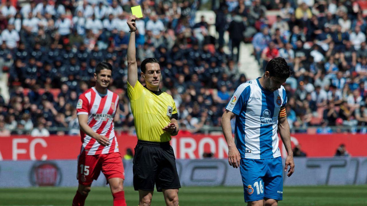 Las imágenes del Espanyol - Celta