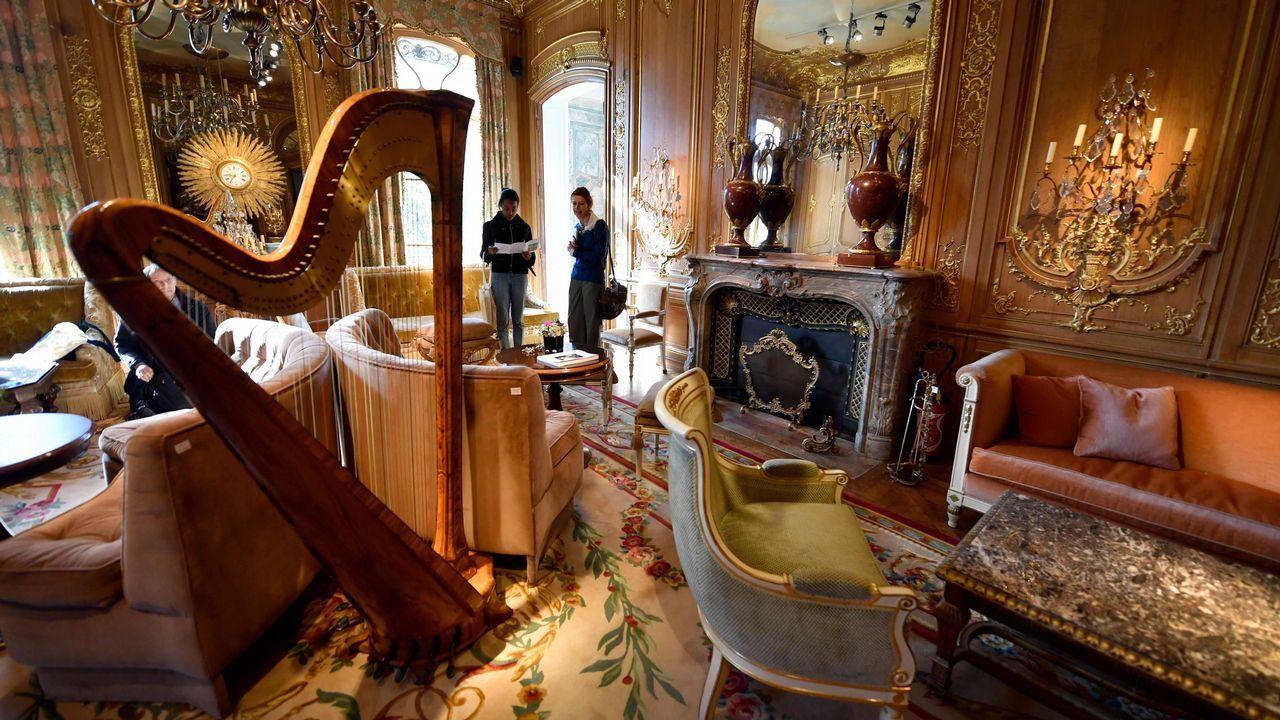 Vista de la salón Proust