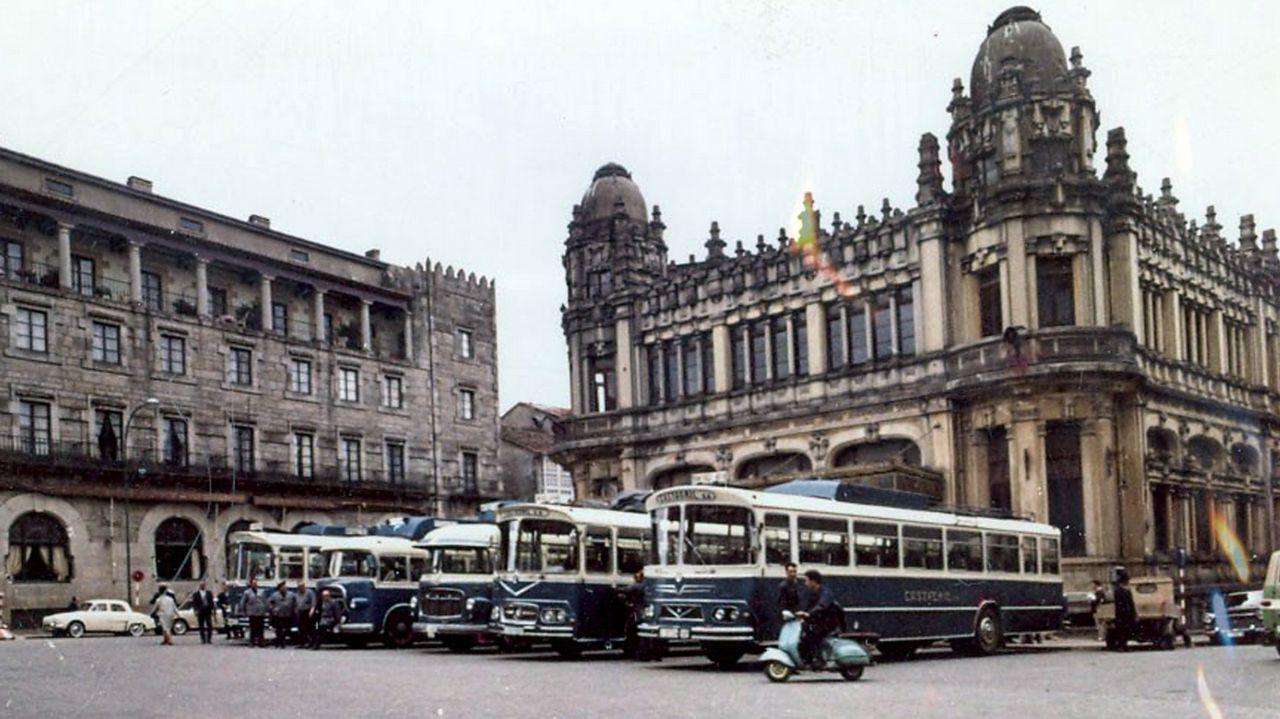 Lo que queda del Santiago de la década de los 60