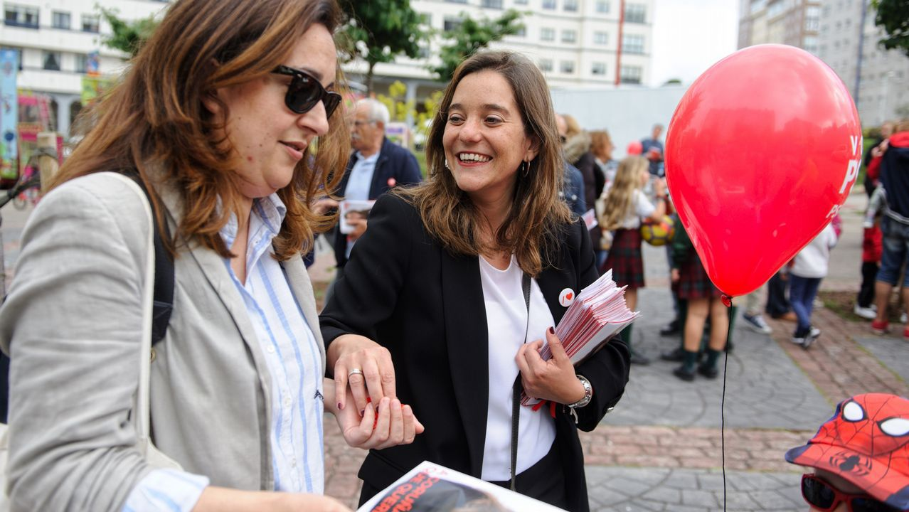 Rosa Gallego y Beatriz Mato