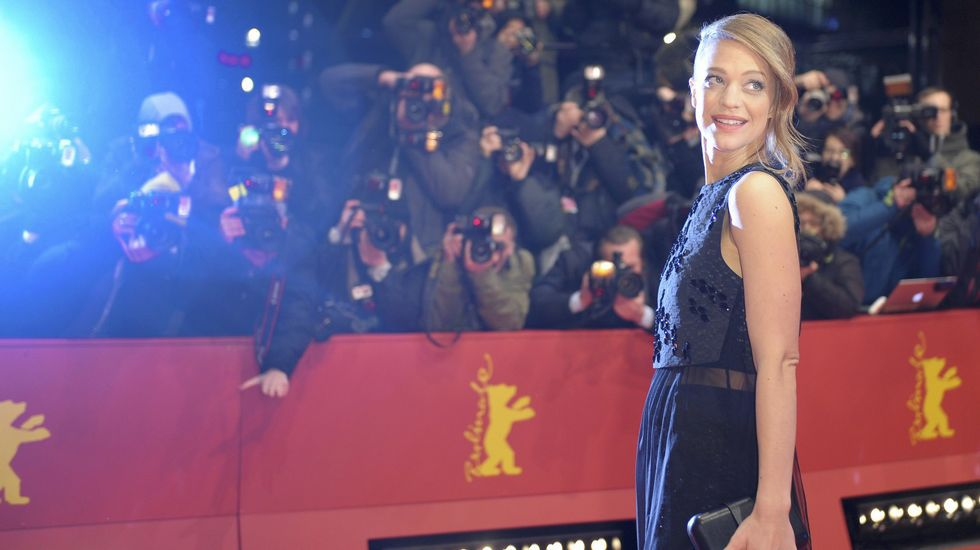 La actriz alemana Heike Makatsch.