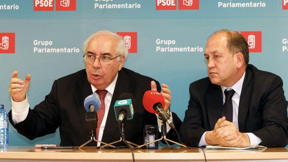 Tinín Areces emplaza al PSdeG a canalizar más las demandas de Galicia a través del Senado.La consejera de Hacienda, Dolores Carcedo