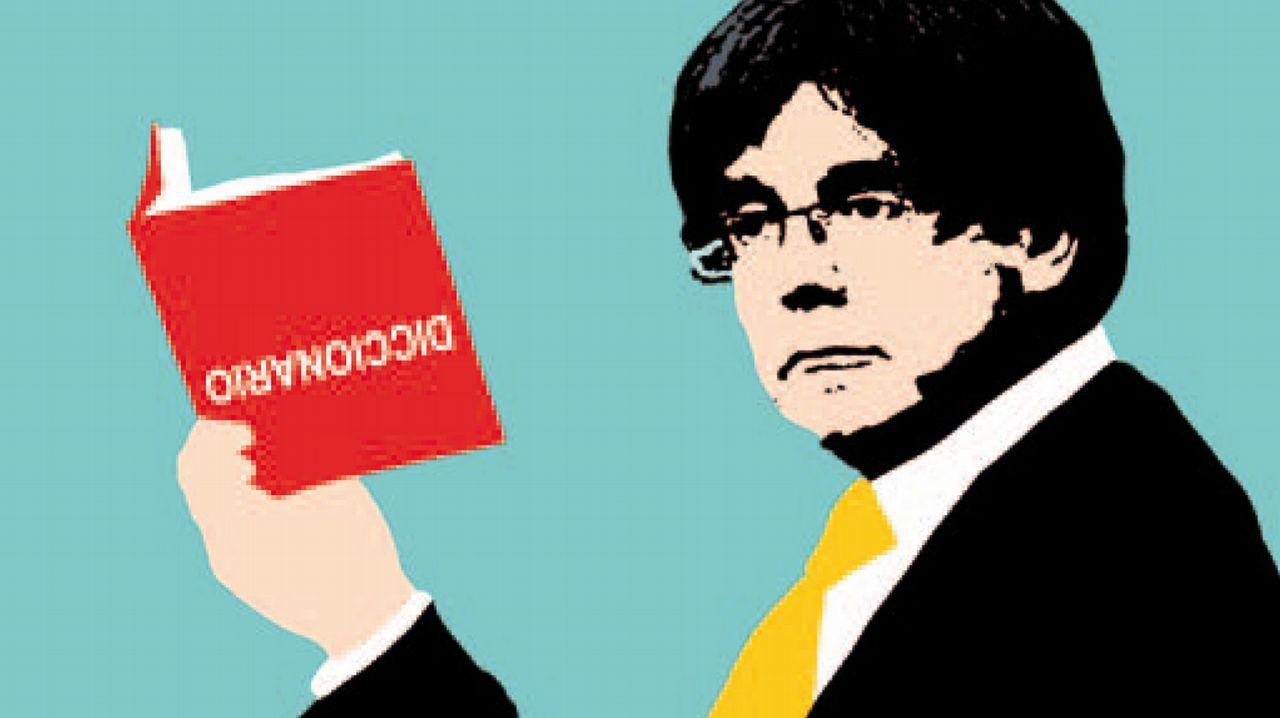 Sánchez arranca desde la Moncloa la campaña para las elecciones del 28 de abril.Los independentistas son expertos en darle la vuelta al diccionario