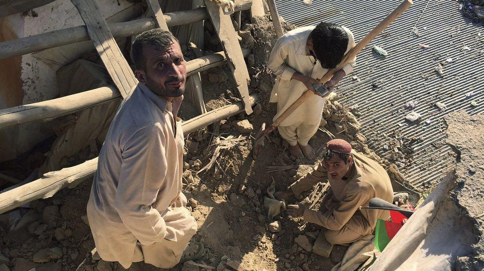 Un terremoto de magnitud 7,5 sacude el norte de Afganistán.Los UAV del Ejército participaron en misiones en Afganistan
