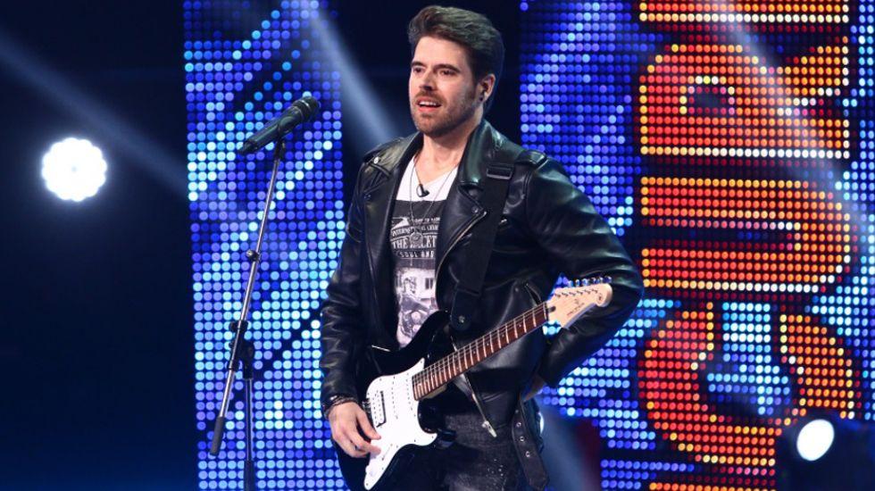 Un asturiano en «Factor X» Rumanía